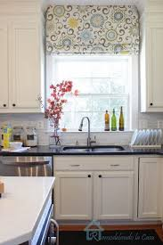Kitchen Blinds And Shades Ideas Gorgeous Roman Shades For Kitchen Windows And 25 Best Farmhouse
