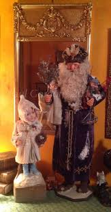 Antique Christmas Decorations Santa Claus by 551 Best Antique Style Santas Images On Pinterest Father
