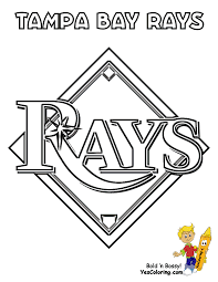 baseball coloring pages tampa bay rays coloring coloring