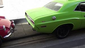 Dodge Challenger Lime Green - lime green 70s dodge challenger epic sound youtube