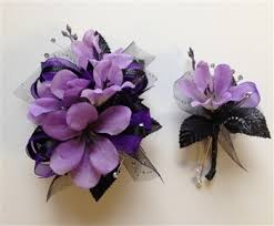 purple corsage purple corsage search bouquets corsages and
