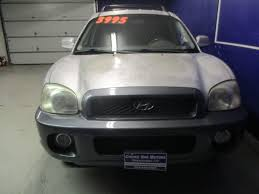 2003 hyundai santa fe recalls 2003 used hyundai santa fe v 6 all wheel drive at choice one