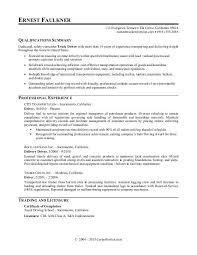 truck driver resume sample truck driver resume sample monster com