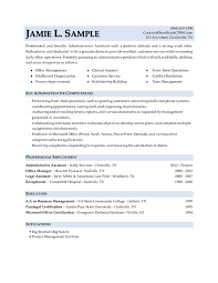 Sample Resume For Receptionist Professional Executive U0026 Military Resume Samples By Drew Roark Cprw