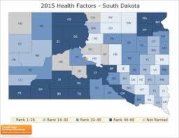 Map Of South Dakota Counties South Dakota Rankings Data County Health Rankings U0026 Roadmaps