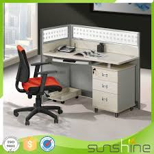Computer Desk Deal Ht Pw02 Office Furniture Staff Use Deal Pine Color Aluminium