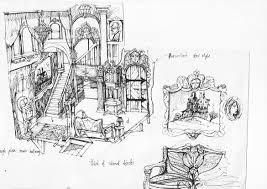 Psycho House Floor Plans Tittikaka Illustration Berkwell Manor