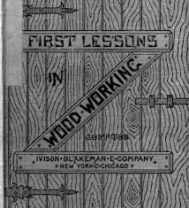 manual lessons in wood working by alfred g compton