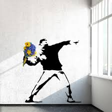 target wall decals flowers color the walls of your house target wall decals flowers rage the flower thrower banksy wall decals on wall