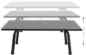 standing height folding table vivo rakuten vivo standing height adjustable desktop stand