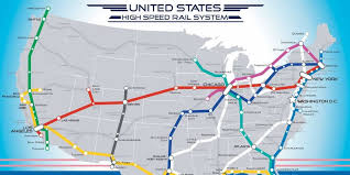 california high speed rail map map of american high speed rail network business insider