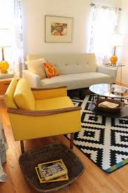Yellow Arm Chair Design Ideas Cool Yellow Chairs Living Room 100 Interior Design Ideas For