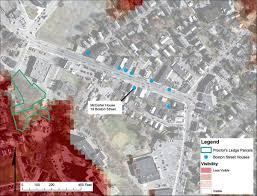Boston Street Map by X Marks The Spot Uva Today