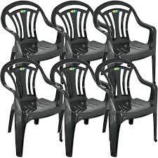 Stackable Outdoor Plastic Chairs Plastic Garden Low Back Chair Stackable Patio Outdoor Party Seat