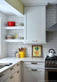 kitchen backsplash white country small kitchen cabinet with open