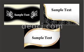 Designing Business Cards In Illustrator 3 Black Gold Business Card Template Illustrator Design Eps File