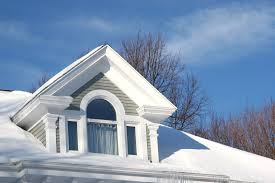 Winter House The Benefits And Risks Of Replacing A Roof In The Winter Gaf Blog