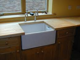 Belfast Sink In Bathroom Astracast Belfast 1 0 Bowl Ceramic Gloss White Sit In Kitchen Sink
