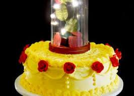 beauty beast cake tutorial sprinkle fun