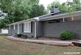 painting brick house exterior exterior idaes