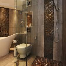 badezimmer fliesen mosaik dusche modernes bad mit eckbadewanne und dusche webnside