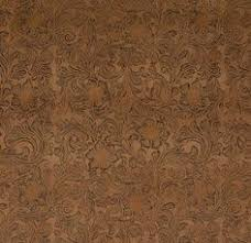 Upholstery Fabric Faux Leather Pancho Canyon Distressed Brown Faux Leather Upholstery Drapery