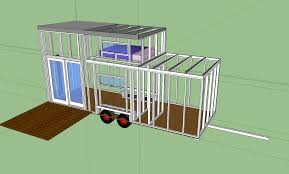 tiny houses plans free old camper into tiny house wheels evolution continues home plans