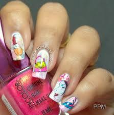 preciouspearlmakeup women u0027s day nail art