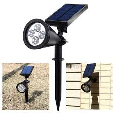 Solar Lights For Driveway by Upgraded Solar Lights 2 In 1 Waterproof Outdoor Landscape Lighting