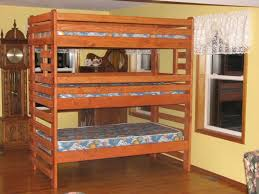 Wood Bunk Beds Plans by Single Full Over Full Bunk Bed Plans Full Over Full Bunk Bed