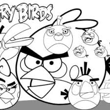 free printable angry bird coloring pages kids color pages