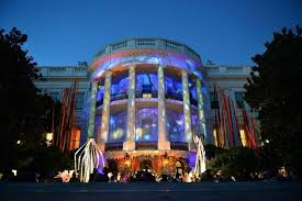 projection mapping at white house event avnetwork