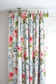 Blue Floral Curtains Light Blue Patterned Curtains Home Living And Dining Room Ideas