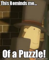 Professor Layton Meme - i made a professor layton meme to go with the game professor