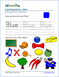 free preschool u0026 kindergarten shapes colors worksheets