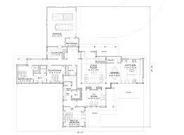 Mechanical Floor Plan Sun Prairie Modern Log Home Floor Plan