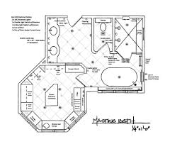 His And Her Bathroom Floor Plans Elegant Master Bathroom Floor Plans Design Decorating For With