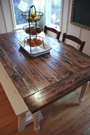 attractive how to make a country kitchen table with best images