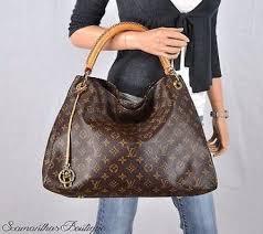 louis vuitton artsy mm bag louis vuitton artsy mm monogram leather shoulder bag satchel purse