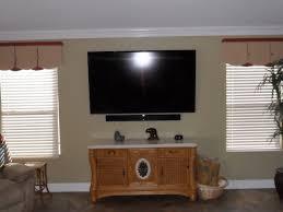 Tv Mount For Window Wallmount Tv And Soundbar Install Photos Talk Of The Villages