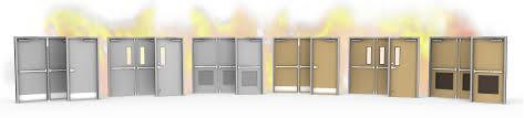 Glass Fire Doors by Steel U0026 Metal Fire Rated Doors Cdfdistributors Com