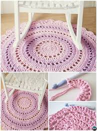 Area Rug Pattern Diy Crochet Area Rug Ideas Free Patterns