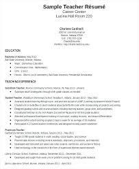 elementary resume template resume sle free professor adjunct templates best