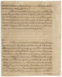 thanksgiving proclamation 1789 an extraordinary rarity leaves from george washington u0027s own draft