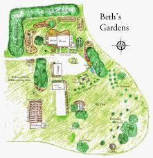 Chicago Botanic Garden Map by Garden Fancy My New Improved Garden Map