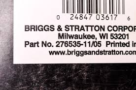 new briggs u0026 stratton 2 cycle snow engine repair manual nos ebay