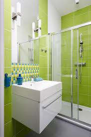 lime green bathroom ideas natural bathroom look with dark green blackish tile ideas green