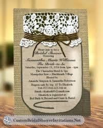 custom bridal shower invitations jar wedding shower invitations printable bridal shower