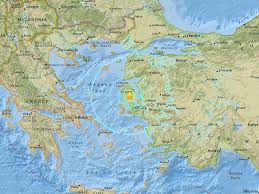 Where Is Greece On The Map by Turkey Earthquake Magnitude 6 3 Seismic Shock Strikes Western