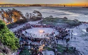 alcatraz indigenous peoples thanksgiving gathering latimes